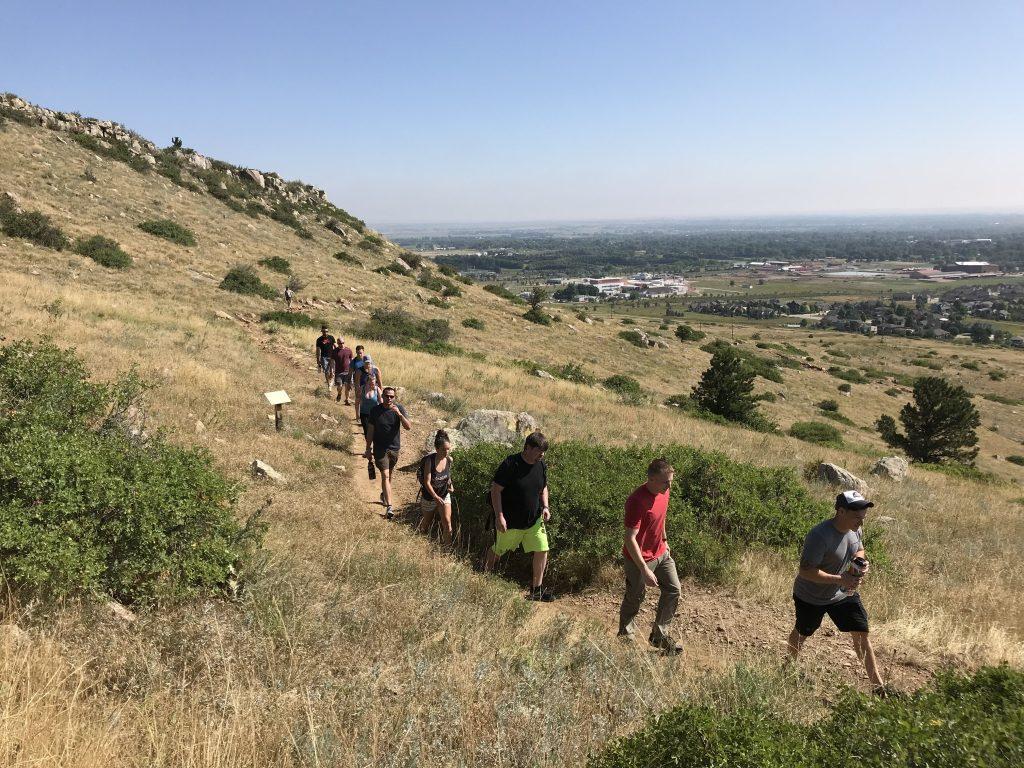Elevate hike group